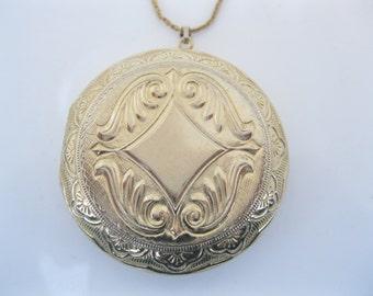 Vintage large perfume locket