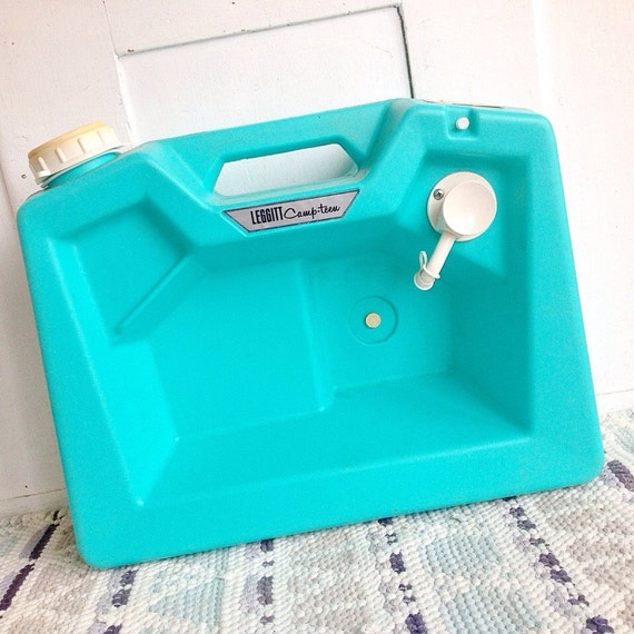 Turquoise Kitchen Sink