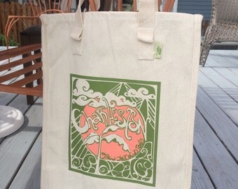 Charleston Grow Your Own Roots Tote - Green