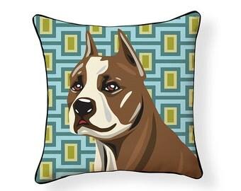 Pooch Décor: Pit Bull Pillow