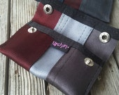 Card Holder - Recycled Wallet - Seat Belt Wallet - Eco Fashion