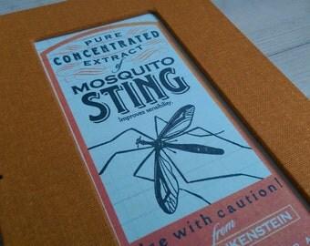 Mosquito Sting (a handmade notebook)