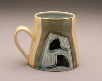 Leaves and Vine- Ceramic Mug- Ruchika Madan