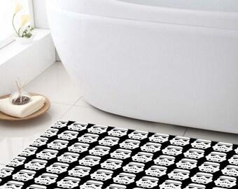Bath Mat, Star Wars Bathroom mat, Shower Mat, customized bath mat, bathroom decor, kids bathroom, bathroom rug, Stormtrooper bathroom mat