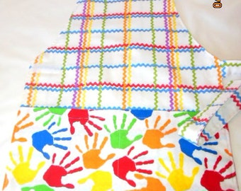 Montessori Style Crafting/Cooking/Painting Apron