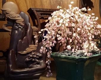 French Beaded Mini Cherry Blossom Bonsai (FREE SHIPPING)