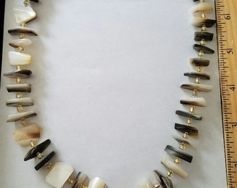 Abalone and Mother of Pearl necklace