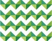 Chevron cross stitch pattern - instant download