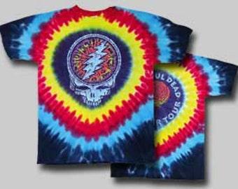 Grateful Dead SYF Raindrop short sleeve  Shirt  Size  XL     Deadhead
