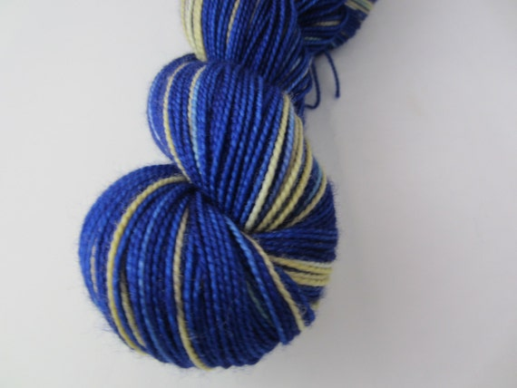 Ravenclaw Soar - Dyed to Order - Hand Dyed - Merino Wool Yarn - Fingering Weight - Harry Potter Yarn