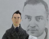 William Carlos Williams- American Poets- Miniature Size- Unique Doll- Writers and Authors