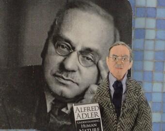 Alfred Adler Psychiatry Art Doll Miniature Psychologist Socialization Study
