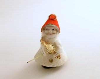 Vintage Christmas Ornament Orchestra Gnome Ornament Christmas Decoration