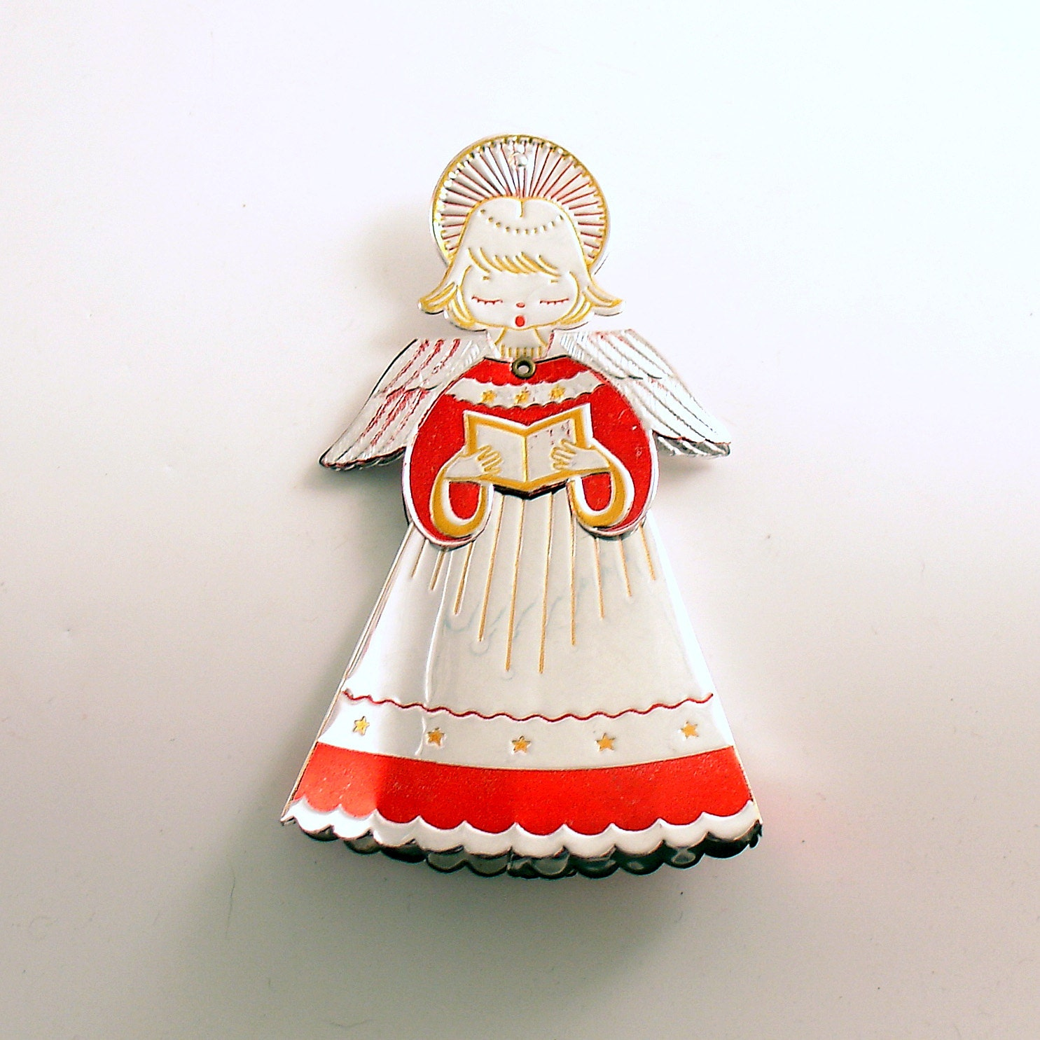 Vintage Christmas Ornament Angel Ornament By Efinegifts On