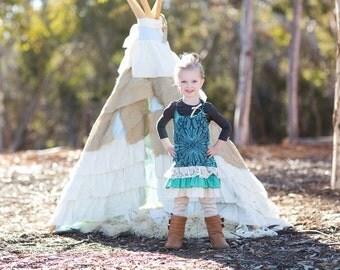 SAMPLE SALE - Briar Dress in Woodland Rose - Size 3