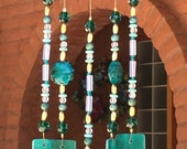 Custom Reserved Order for Janet Teal Glass Windchimes