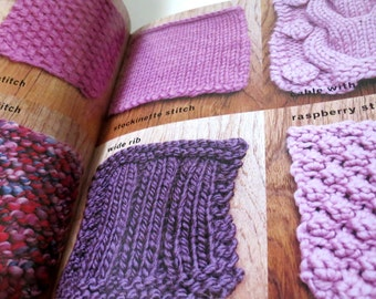 Knit Pattern Book - Simple Knits With A Twist - Erika Knight - Knitting - Craft book - Pattern book -