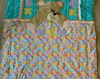 Sleepy Bear quilt