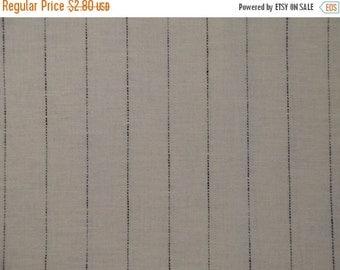 40% OFF SALE Specatator Linen White With Navy Stripe 20 x 42