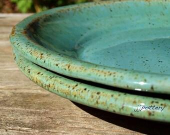 Plate, Dinner plate, Handmade Ceramic Dinner Plates, Dinnerware, Stoneware Plates, Pottery Plate Set