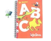 Dr. Seuss' ABC Notebook / ABC Journal / Recycled Book Journal