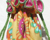 Summer Dreams Jewelry Pouch, Jewelry bag Travel Organizer, Bag, in 2 versions