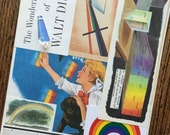 Pollyanna Classic Disney Movie Starring Heyley Mills Rainbows and Prisms Vintage Collage and Scrapbook Kit Number 2028
