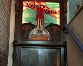 Stained Glass Panel - Maker's Mark (P-47)