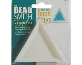 Supplies - Tools - Beadsmith Bead Trays -3 Piece Set - SKU:501025