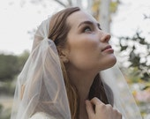 Juliet bridal cap wedding veil - Style Penrose no. 2120