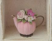 Acorn teapot . Reserved for Loretta