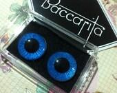 Blue Blythe Eyechips Custom Chips Handpainted