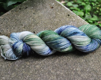 Merino/Nylon Superwash Sock Yarn - Horned Serpent Colorway - Inspired by Harry Potter