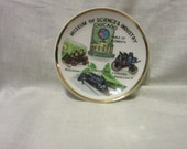 Vintage Souvenir From Museum of Science and Industry Chicago Trinket Dish