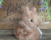 Bunny Spring Needle Felted Decoration Wool Alpaca Lovinclaydolls