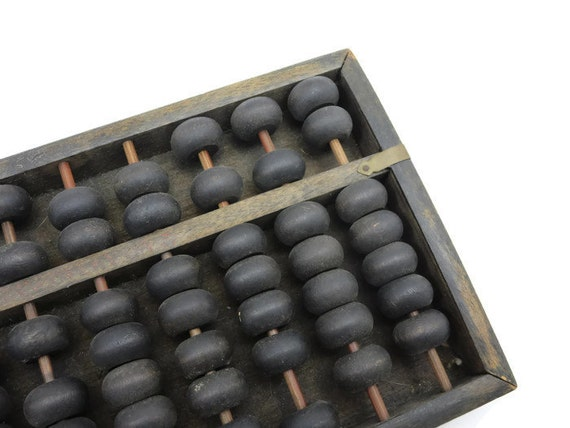 Vintage Wooden Abacus