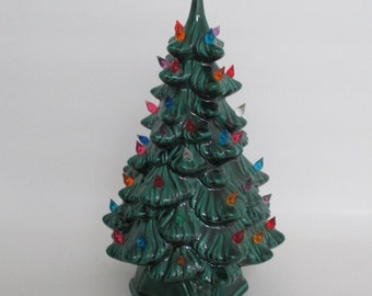 Ceramic Lighted Christmas Vintage