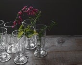 Antique Fluted Absinthe Glasses, Drinking Glasses, Home & Living, Glassware, Entertaining, Table Ware