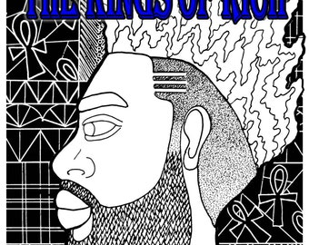 Coloring book for the brothas