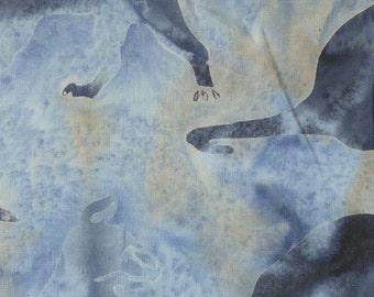 NEW - Light Blue Cats Batik - 121416060