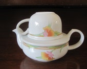 Teapot and Tea Cup Set. Vintage. Toscany Collection. Japan. Fine China.