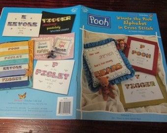 Counted Cross Stitch Patterns Winnie the Pooh Alphabet Designer Stitches Disney Counted Cross Stitch Leaflet