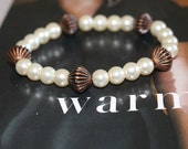 Pearls and Chocolate Bracelet