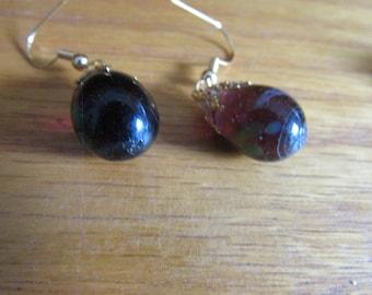 amethyst jelly bean glass