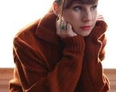 ON SALE Suede & Wool Jacket