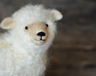 Needle Felted Sheep | Southdown | Wool Sheep Sculpture