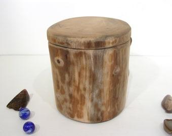 Oregon Myrtlewood Tree Branch Box, small cremation urn, wood art, rustic wood decor, desk organizer, retirement gift, wood anniversary