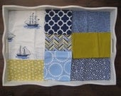 Sailboat Minky Blanket Made to Order