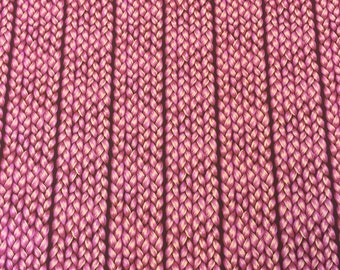 Anna Maria Horner Fabric by the Yard - Fibs and Fables - Plaited in Magenta - Quilter's Cotton