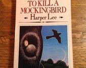To Kill A Mockingbird by Harper Lee vintage paperback